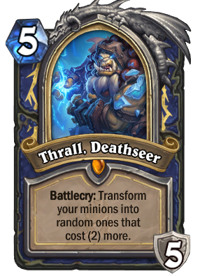 Thrall, Deathseer Card Image