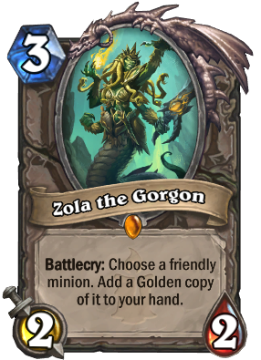 Zola the Gorgon Card Image