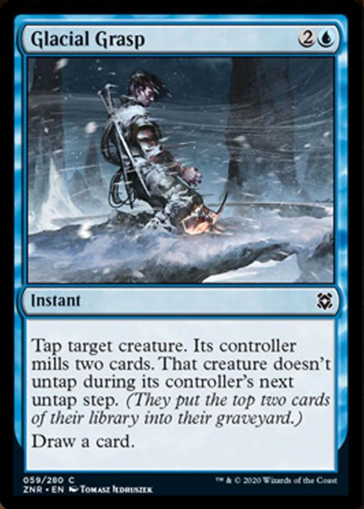 Glacial Grasp Card Image
