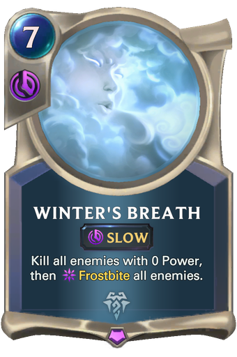 Winter's Breath Card Image