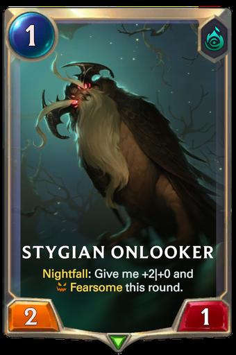 Stygian Onlooker Card Image