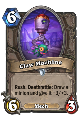 Claw Machine Card Image