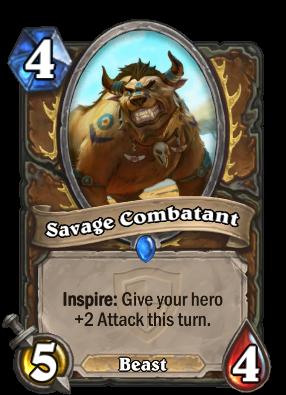 Savage Combatant Card Image