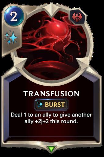 Transfusion Card Image