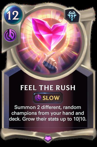 Feel The Rush Card Image