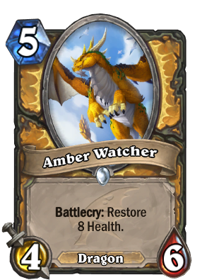 Amber Watcher Card Image