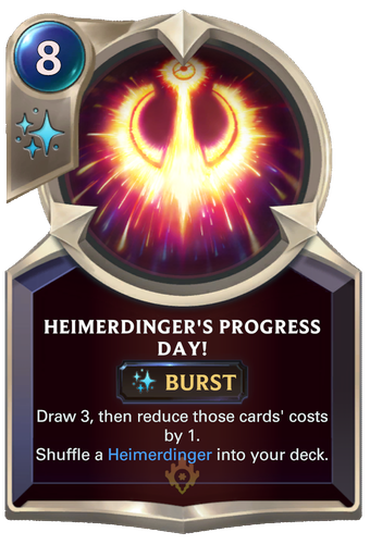 Heimerdinger's Progress Day! Card Image