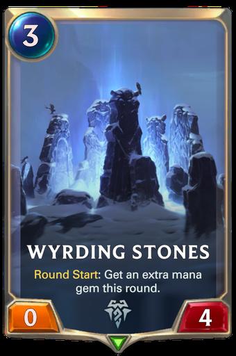 Wyrding Stones Card Image