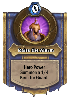 Raise the Alarm Card Image
