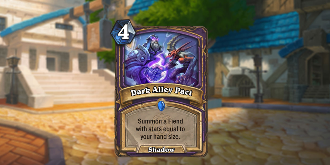 New Warlock Card Revealed for United in Stormwind by Keuhn - Dark Alley Pact