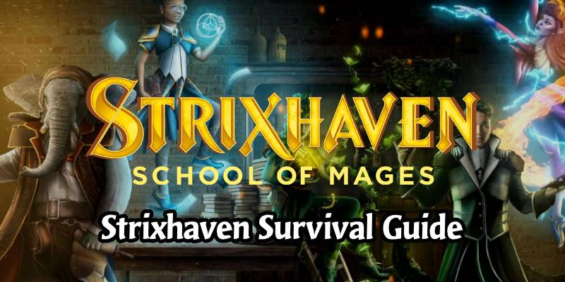 Strixhaven Releases Today! Set Survival Guide