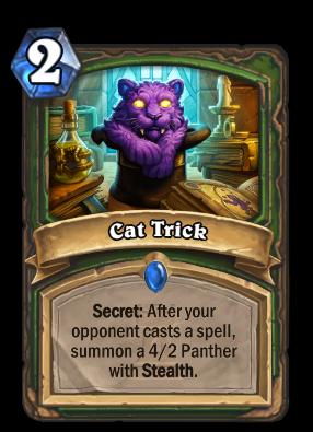 Cat Trick Card Image