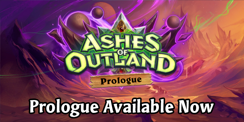 The Ashes of Outland Demon Hunter Prologue is Live!