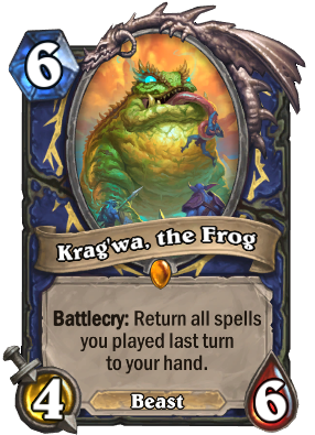 Krag'wa, the Frog Card Image