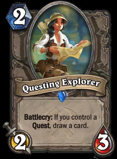Questing Explorer Card Image