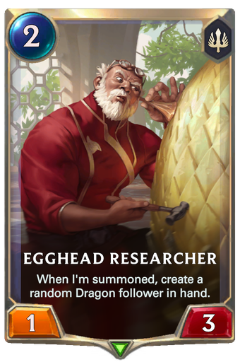 Egghead Researcher Card Image