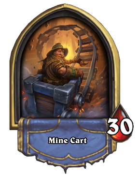 Mine Cart Card Image