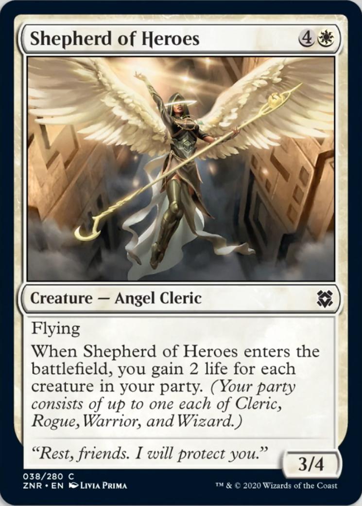Shepherd of Heroes Card Image