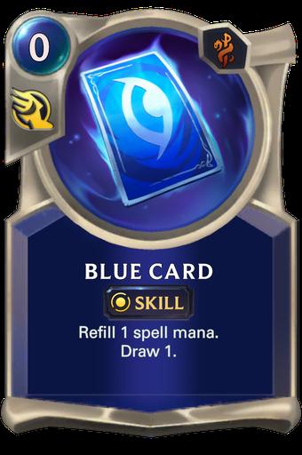 Blue Card Card Image