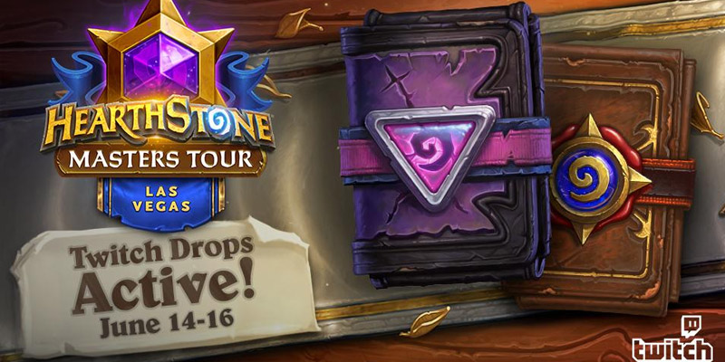 Twitch Drops Return to Hearthstone for the Masters Tour - Two+ Free Packs
