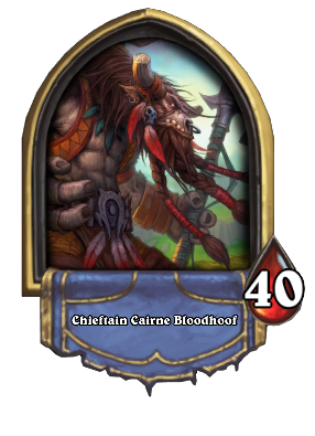 Chieftain Cairne Bloodhoof Card Image