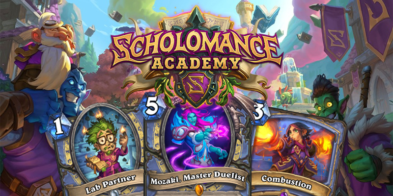 Our Thoughts on Hearthstone's Scholomance Academy Mage Cards