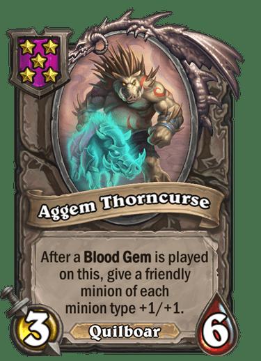 Aggem Thorncurse Card Image