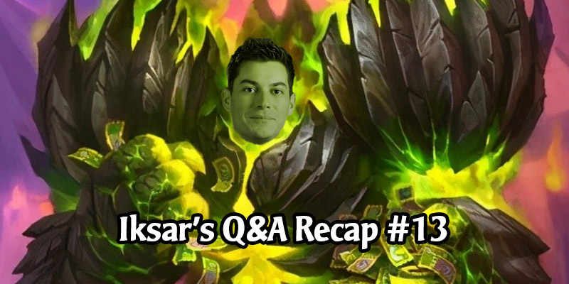 Dean Ayala's Community Q&A #13 - Tickatus, Balance Patches, Curse of Naxxramas in Classic, User-Generated Content, and More!