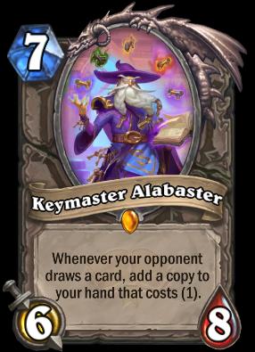 Keymaster Alabaster Card Image