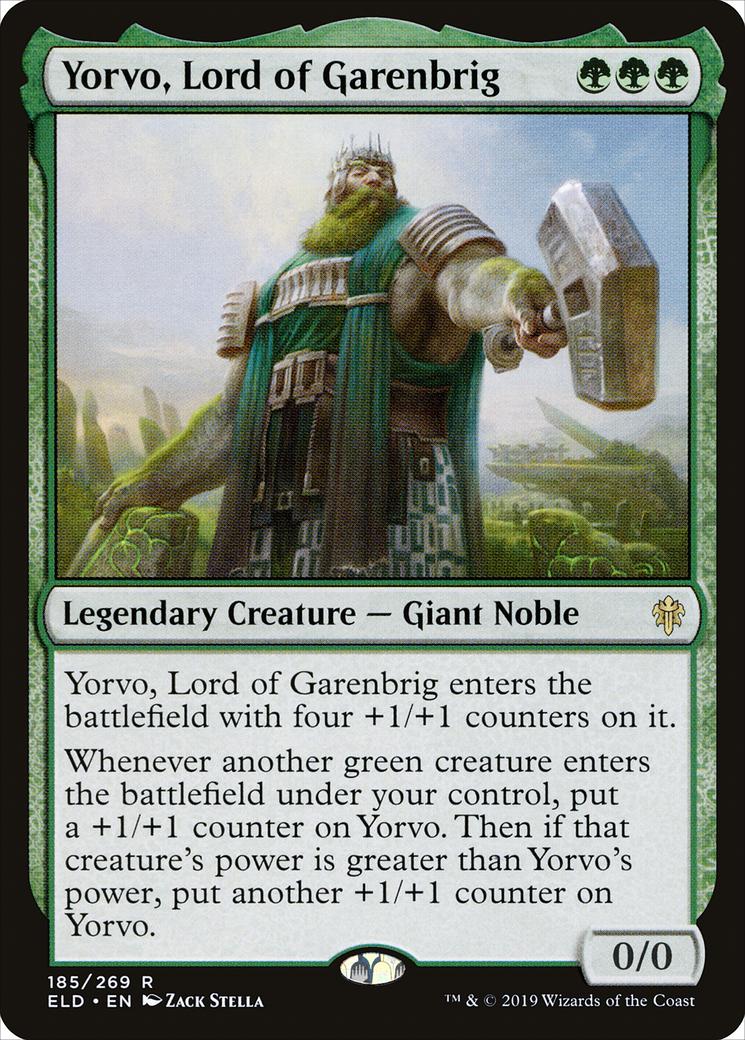 Yorvo, Lord of Garenbrig Card Image