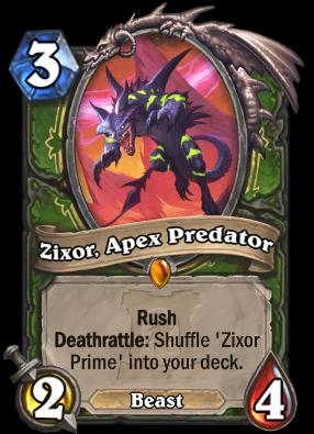 Zixor, Apex Predator Card Image