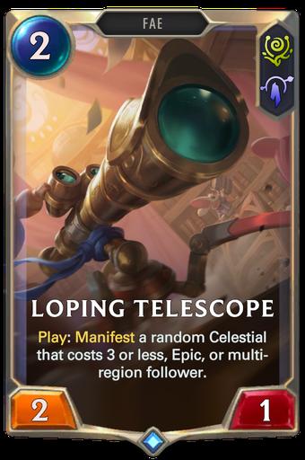 Loping Telescope Card Image