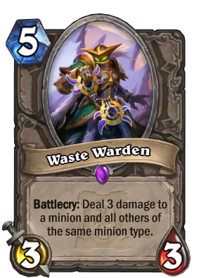 Waste Warden Card Image