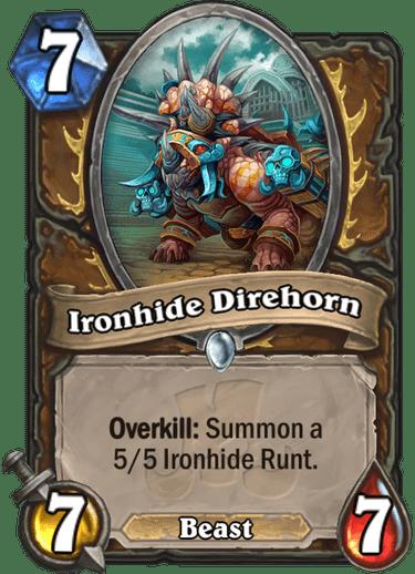 Ironhide Direhorn Card Image