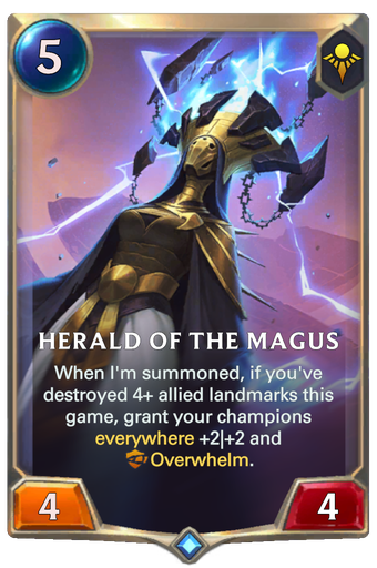 Herald of the Magus Card Image