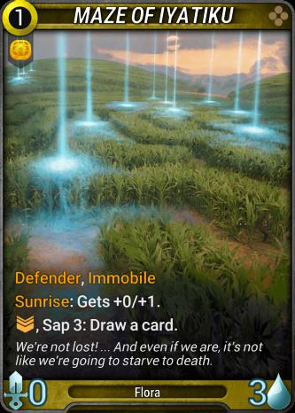 Maze of Iyatiku Card Image