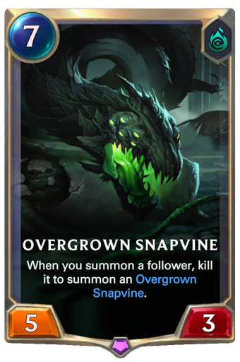 Overgrown Snapvine Card Image