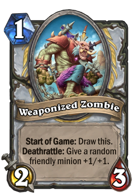 Weaponized Zombie Card Image