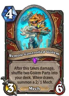 Remote-Controlled Golem Card Image