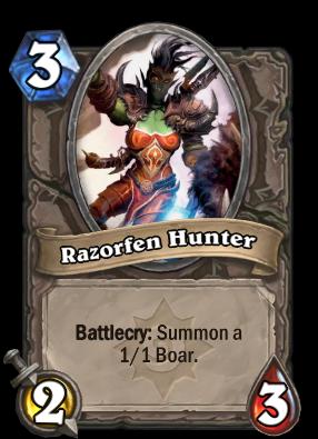 Razorfen Hunter Card Image