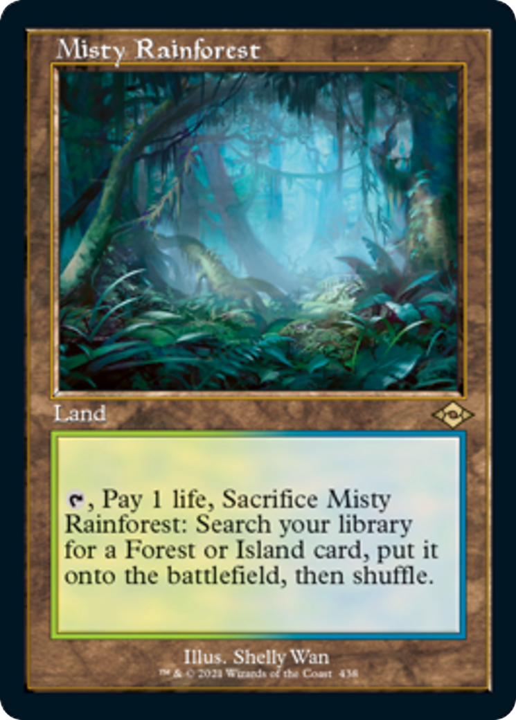 Misty Rainforest Card Image