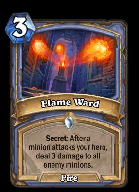 Flame Ward Card Image