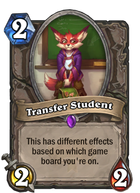 Transfer Student Card Image