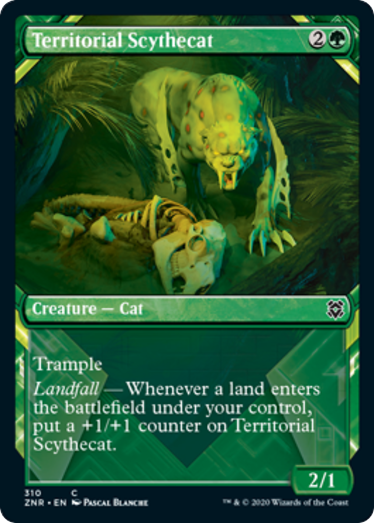 Territorial Scythecat Card Image