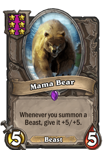 Mama Bear Card Image
