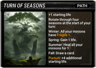 Turn of Seasons Card Image