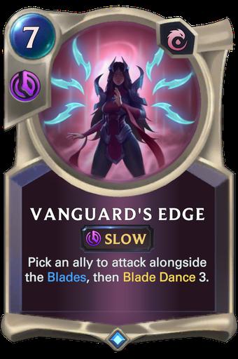 Vanguard's Edge Card Image