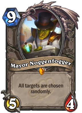 Mayor Noggenfogger Card Image