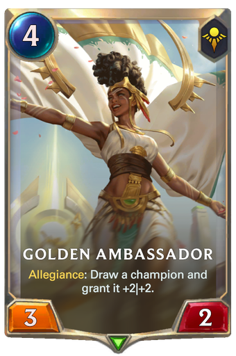 Golden Ambassador Card Image