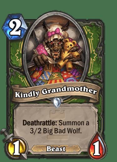 Kindly Grandmother Card Image